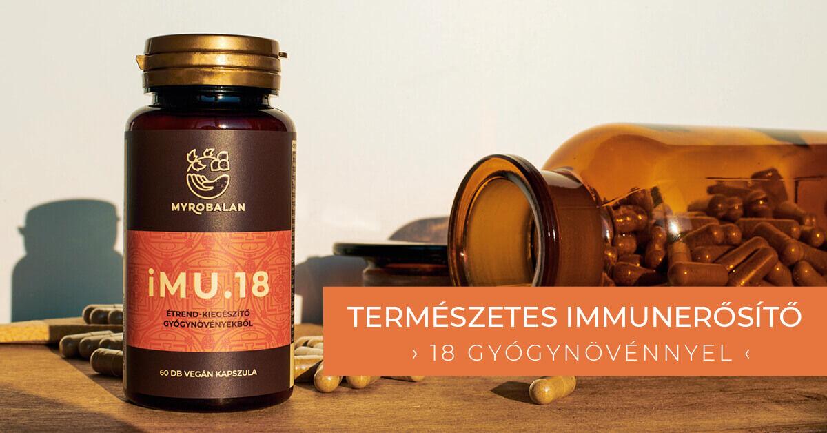 Természetes immunerősítő 18 gyógynövény együttes erejével
